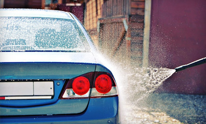 Newport Car Wash - Newport Beach: Deluxe Car Wash and Hand Wax or One Month of Unlimited Car Washes at Newport Car Wash (Up to 64% Off)