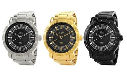 JBW 562 Men's Diamond Watches with Swiss Quartz
