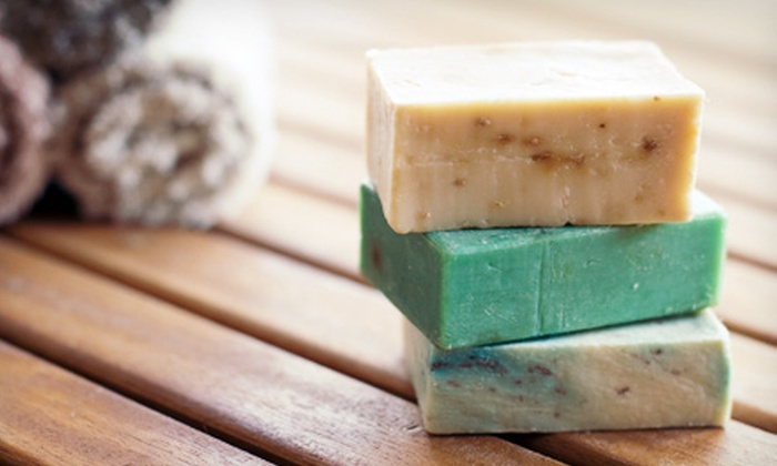 Stambry's Crescent Moon Soap Company - Quincy Center: Soap, Lotion, and Candle Making Classes at Stambry's Crescent Moon Soap Company (Up to 55% Off). Five Options Available.