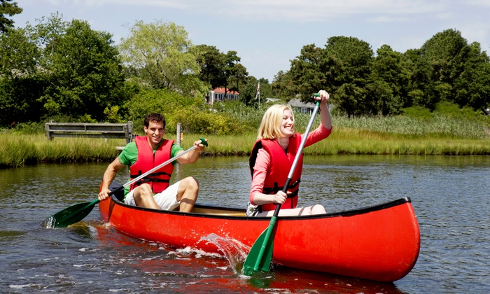 Broadway Tackle - Augusta: One- or Three-Day Canoe Rental from Broadway Tackle (Up to Half Off)