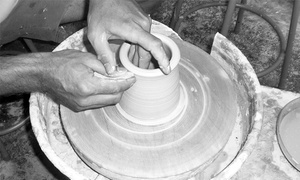 Fountain Square Clay Center: Two-Hour Pottery Class for Two or Four at Fountain Square Clay Center (Up to 38% Off)
