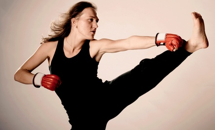 Four or Eight Weeks of Unlimited Kickboxing Classes at MMA (Up to 64% Off)