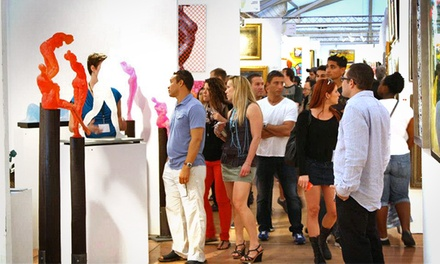 Regular or VIP Entry to SPECTRUM Miami Art Fair for Two (Up to 40% Off)