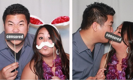 $400 for Three-Hour Photo-Booth Rental with Unlimited Prints from A Vanity Affair ($1,200 Value)