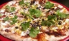 Stone Hearth Pizza - Multiple Locations: Gourmet Pizza and Italian Food at Stone Hearth Pizza (Half Off). Two Options Available.
