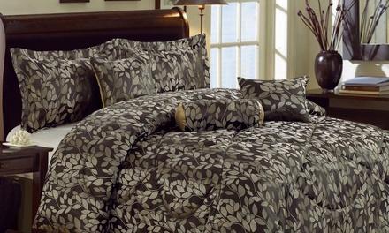 Jacquard 7 Piece Comforter Set