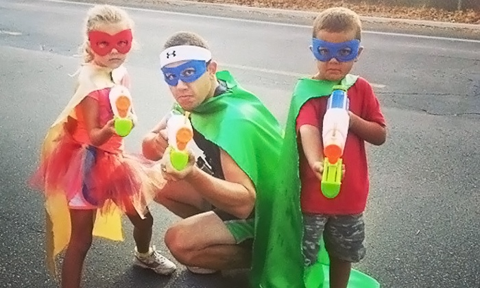 Jr. Hero Run - NTC Park: Jr. Hero Run for One, Two, or Four at NTC Park on Saturday, June 18 (Up to 52% Off)