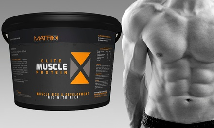 2.25kg or 4kg of Matrix Elite Muscle Protein from £19.99 (Up to 68% Off)