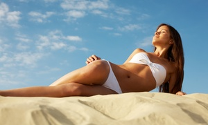 Glowing Gold Tanning Spa: $19 for 2 VersaSpa Spray Tans or 1 Week of UV Tanning at Glowing Gold Tanning Spa (Up to $126 Value)
