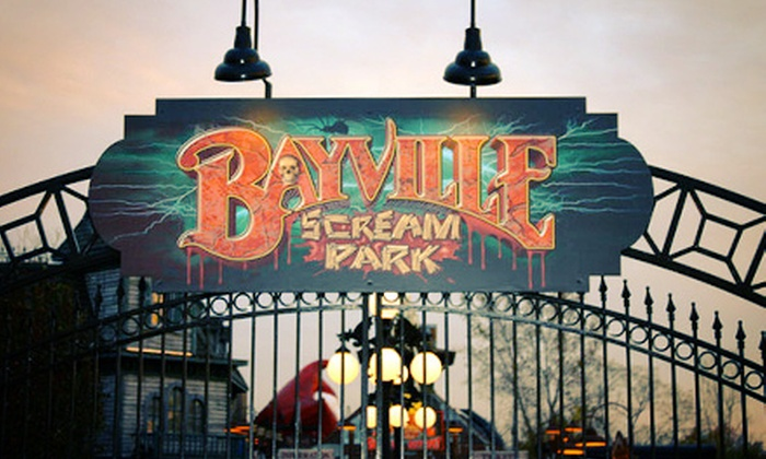 Bayville Scream Park - Bayville: Weeknight VIP Speed Pass for Two People to Two or Five Attractions at Bayville Scream Park (Up to 52% Off)