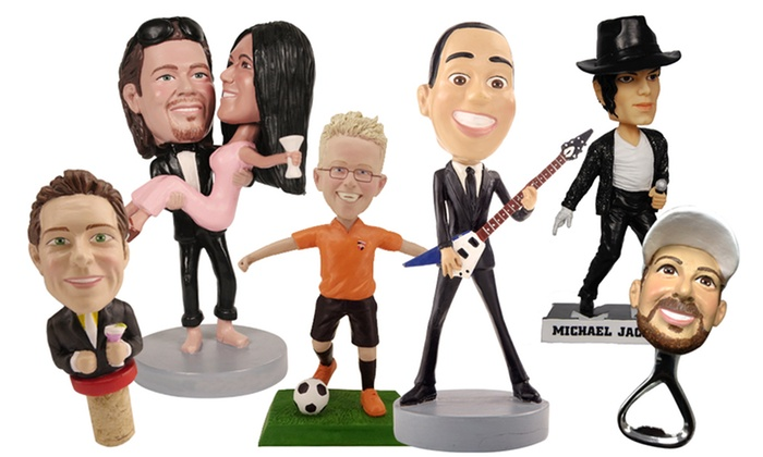 AllBobbleHeads.com: Up to 57% Off Cake Toppers, Bottle Openers, Phone Cases, Bobbleheads, and More at AllBobbleheads.com
