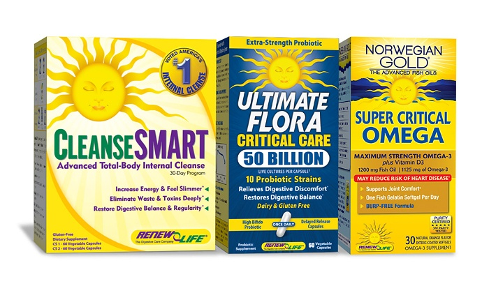 ReNew Life: $19 for $45 Worth of Natural Supplements from ReNew Life