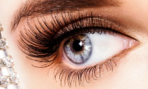B-Lashes Beauty Parlor: Eyelash Extensions or Permanent Makeup for the Top or Lower Lids or Both Lids at  B-Lashes   (Up to 54% Off)