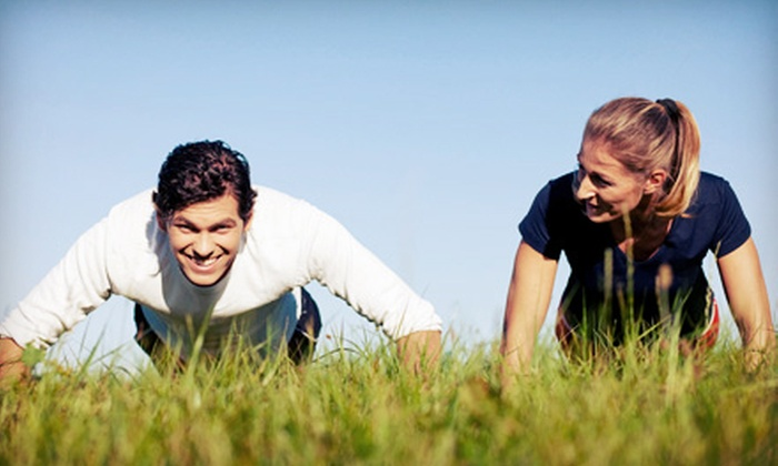 Slim Body Fitness - Granada Hills South: 5 or 10 Outdoor Boot-Camp Classes from Slim Body Fitness (Up to 72% Off)