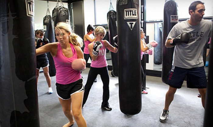 Title Boxing Club - Multiple Locations: $19 for Two Weeks of Unlimited Boxing Classes with Hand Wraps at Title Boxing Club ($48 Value)