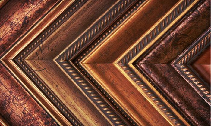 Picture Framing Warehouse - Pompano Beach: $29 for $100 Worth of Custom Framing at Picture Framing Warehouse in Pompano Beach