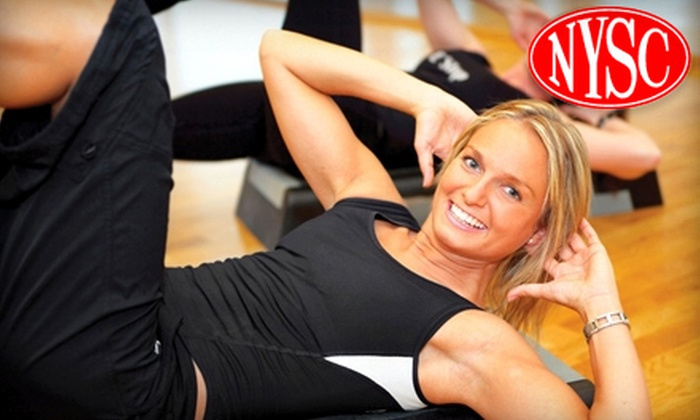 New York Sports Clubs - North Jersey: $24 for a 30-Day Passport Membership to New York Sports Clubs ($49.95 Value)
