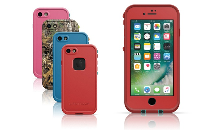 save off f6a28 7dc6b Lifeproof FRE Series Waterproof Case for iPhone 7 | Groupon