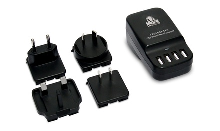 $29 for a Mbeat Four-Port USB 34W Travel Charger or $69 for a Mbeat USB Type-C PD Travel Charger