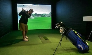 Greenhouse Golf: Golf-Simulator Play for Two or Four or BYOB Golf-Simulator Party at Greenhouse Golf (Up to 51% Off)