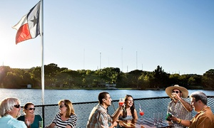 Lake Austin Riverboats: 2.5-Hour Catered Sightseeing Tour for Two, Four, or Eight from Lake Austin Riverboats (Up to 54% Off)