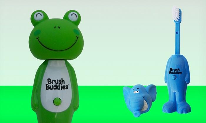 Brush Buddies Poppin' Toothbrush for Kids: Brush Buddies Poppin' Toothbrush for Kids. Multiple Options Available.