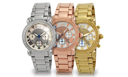 JBW Victory Women's Diamond Watch. Multiple Designs Available.