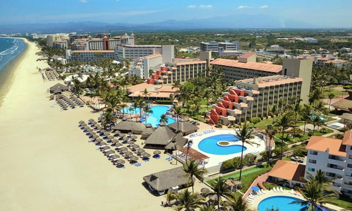 Occidental Grand Nuevo Vallarta Vacation with Airfare from Travel by Jen - Mexico: Occidental Grand Stay w/ Airfare from Travel by Jen. Incl. Taxes & Fees. Price Per Person Based on Double Occupancy.