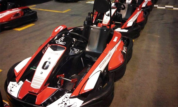 Indoor Kart Racing @ TBC - Indoor Kart Racing at TBC: Exclusive Group Go-Kart Racing for up to 12 with 15-Minutes of Track Time at Indoor Kart Racing @ TBC (44% Off)