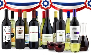 Franklin Mint Wine Merchants: $79 for Curated 12-Bottle Pack of Wine from Franklin Mint Wine Merchants ($253.87 Value)