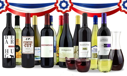 $79 for Curated 12-Bottle Pack of Wine from Franklin Mint Wine Merchants ($253.87 Value)