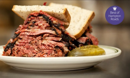 Three Groupons, Each Good for $15 Worth of Soups, Sandwiches, and Deli Food at The Route 58 Deli ($45 Value)