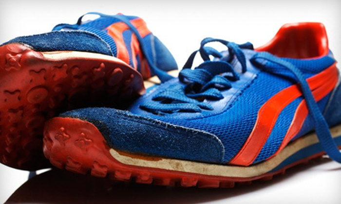 Tri-State Running Company - Tri-State Running Company: Running Shoes and Sneakers or Sports Clothing at Tri-State Running Company in Edgewood (Half Off). Two Options Available.