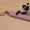 Hanging Rope Tube Scratcher Cat Toy