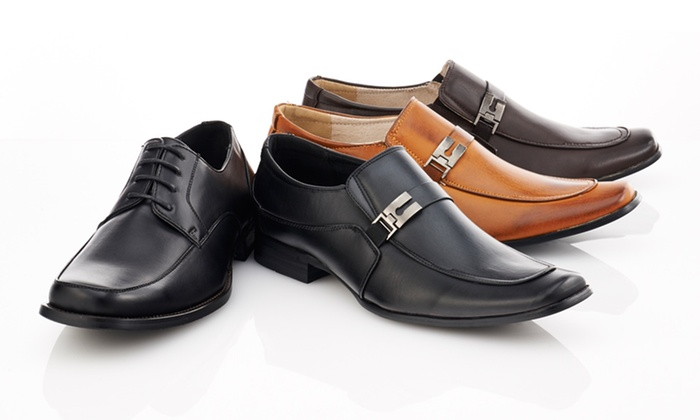 Franco Vanucci Men's Dress Shoes: $37.99 for Franco Vanucci Men's Dress Shoes ($99 List Price). Multiple Styles Available. Free Shipping and Returns.