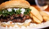 The Lower Deck - Waterfront Location: Casual Fare Meal for Two or Four at The Lower Deck Pub & Beer Market (Up to 52% Off)
