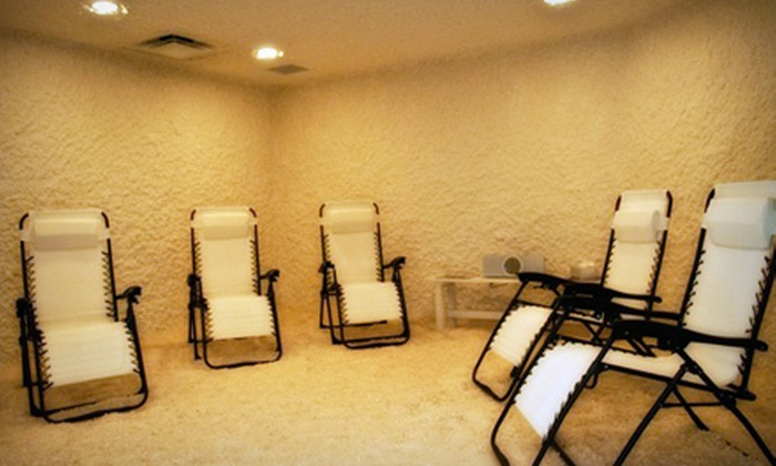 The Salt Room - Lady Lake: One or Three 45-Minute Salt-Therapy Sessions at The Salt Room (Up to 59% Off)