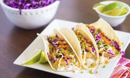 $12 for Two vouchers: Each Good for $10 Worth of <strong>Mexican</strong>-Asian Fusion at Round House ($20 Total Value)