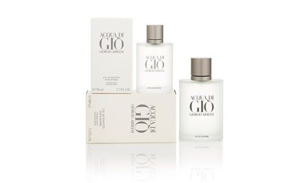 Giorgio Armani Acqua Di Gio Eau de Toilette for Men in 1.7 or 3.4 Fl. Oz. for $39.99–$59.99