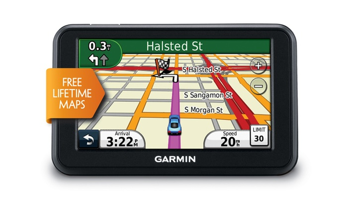 "Garmin nüvi 40LM 4.3"" GPS with Map Updates: Garmin nüvi 40LM 4.3"" GPS (Manufacturer Refurbished). Free Returns."