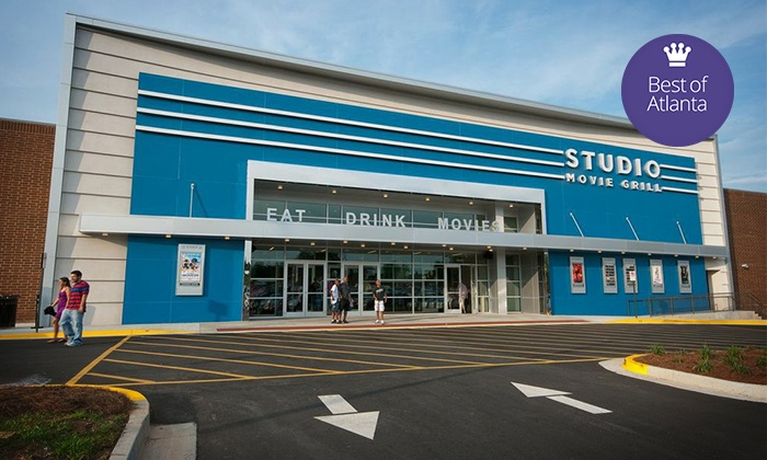 Studio Movie Grill - Multiple Locations: $6 for a Movie Outing with a Ticket at Studio Movie Grill (Up to $11 Value)