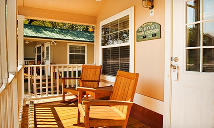 The Old Irish Bed and Breakfast - Denton: $249 for a Two-Night Stay for Two with Champagne and Hot Breakfast at The Old Irish Bed and Breakfast (Up to $505 Value)