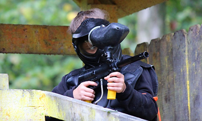 Synergy Paintball - Eaton: All-Day Paintball Outing for 2, 4, or 12 at Synergy Paintball in Eaton Township (Up to 70% Off)