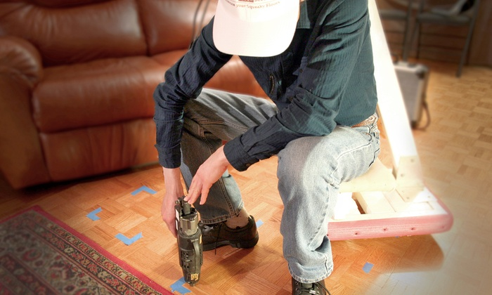 Silent Floor Solutions - Toronto: C$40 for a Squeaky Floor- Silencing Repair Assessment from Silent Floor Solutions (C$100 Value)