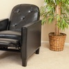 Santino Bonded-Leather Recliner Chair
