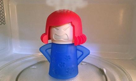 1, 2 ou 4 nettoyeurs de micro-ondes Angry Mama