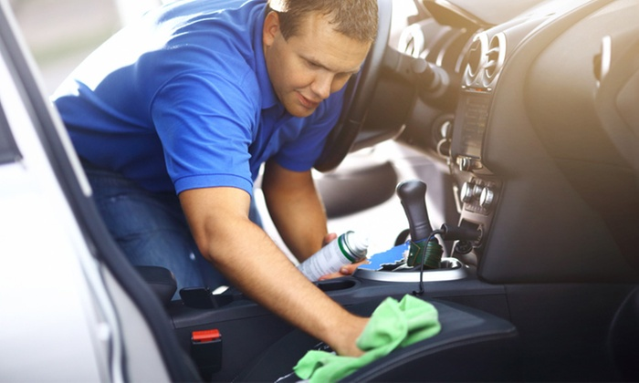 "Levittown Brothers Hand Car Wash - Levittown Brothers Hand Car Wash: ""The Works"" Complete Detail for a Car, Truck, Van, or SUV at Levittown Brothers Hand Car Wash (Up to 44% Off)"