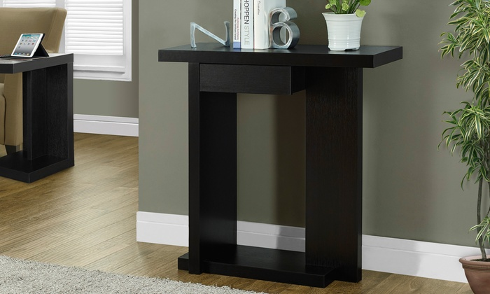 Foyer Table Jcpenney : Quot console accent hall table groupon goods