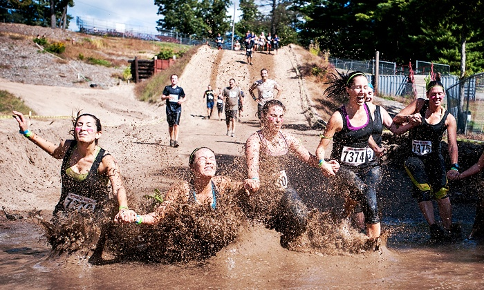 Rugged Maniac 5K Obstacle Race - Ennis: $29 for Entry for One in Rugged Maniac 5K Obstacle Race on Saturday, October 11 (Up to $58 Value)