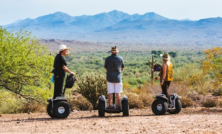 $49 for Off-Road Desert Segway Tour from Adventures Out West ($85 Value)